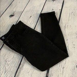 GAP Denim Black Legging-34 Reg